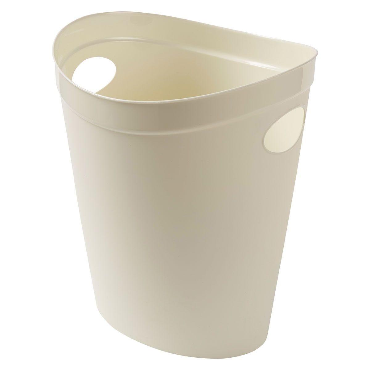 Addis Waste Paper Bin - Cream