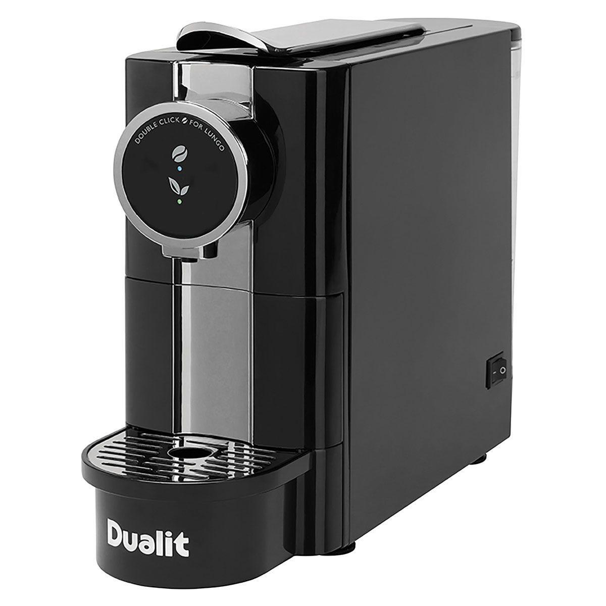 Dualit 85181 Cafe Plus Nespresso–Compatible Capsule Machine – Black