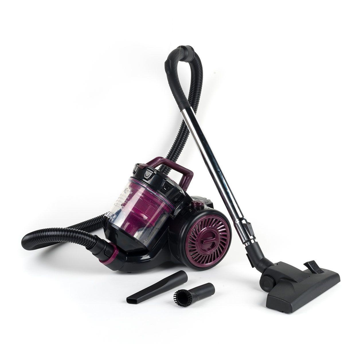 Kleeneze KL0812 Turbo Pet Cylinder Vacuum Cleaner - Purple & Black
