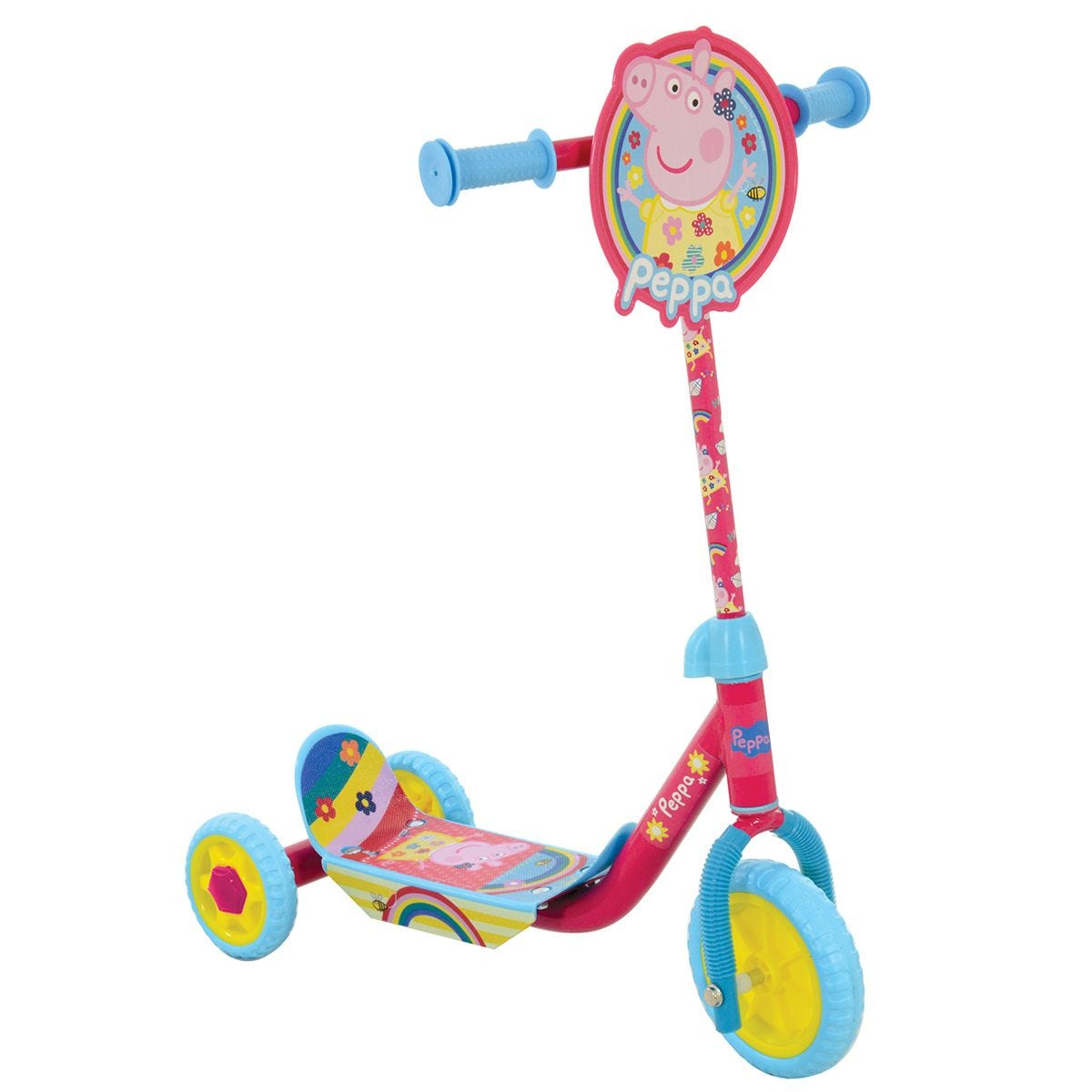 Peppa Pig Deluxe Tri Scooter