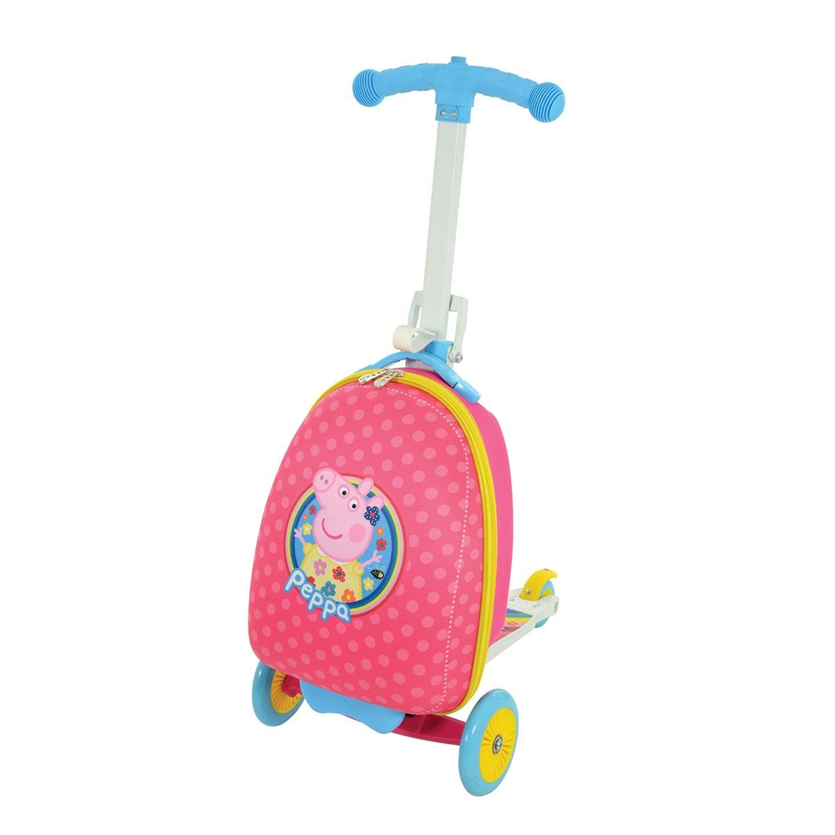Peppa Pig 3in1 Scootin Suitcase