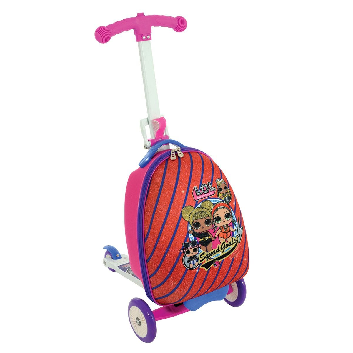 LOL Surprise 3in1 Scootin Suitcase
