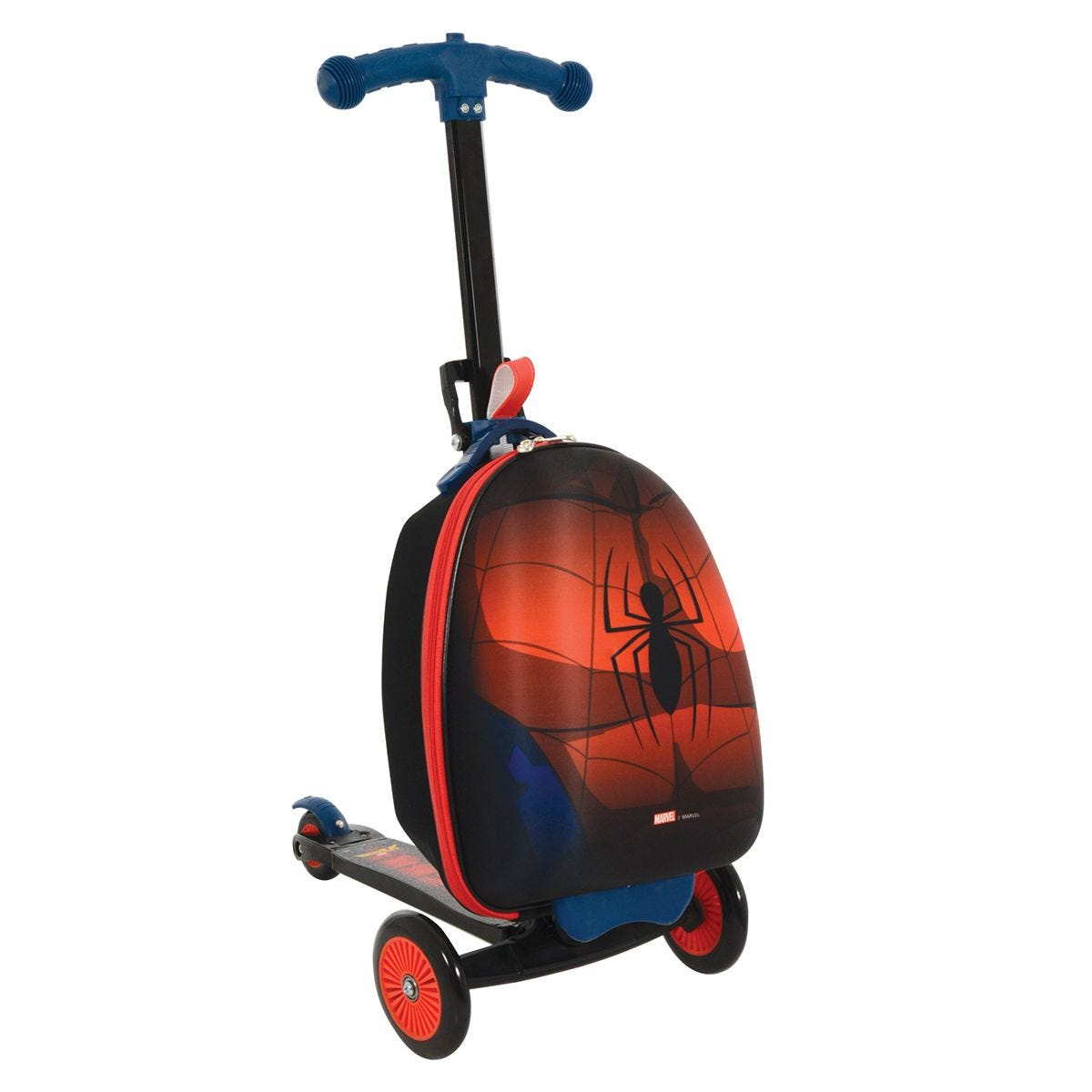 Spiderman 3in1 Scootin Suitcase