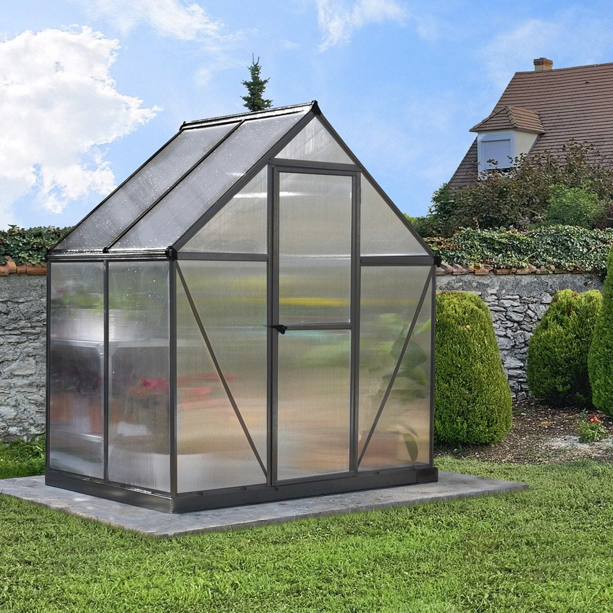 Palram Mythos Greenhouse - Grey