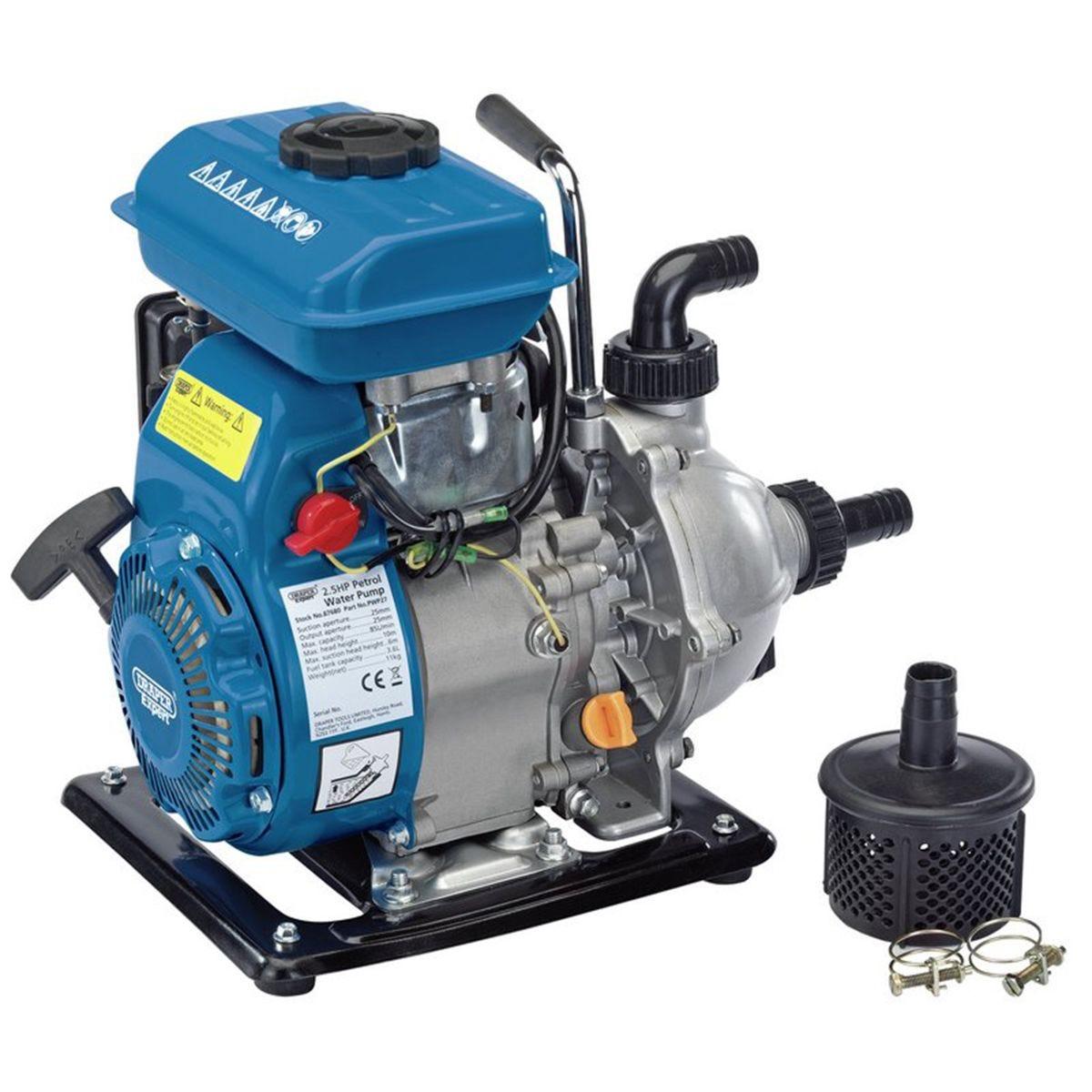 Draper Petrol Water Pump (85L/Min)