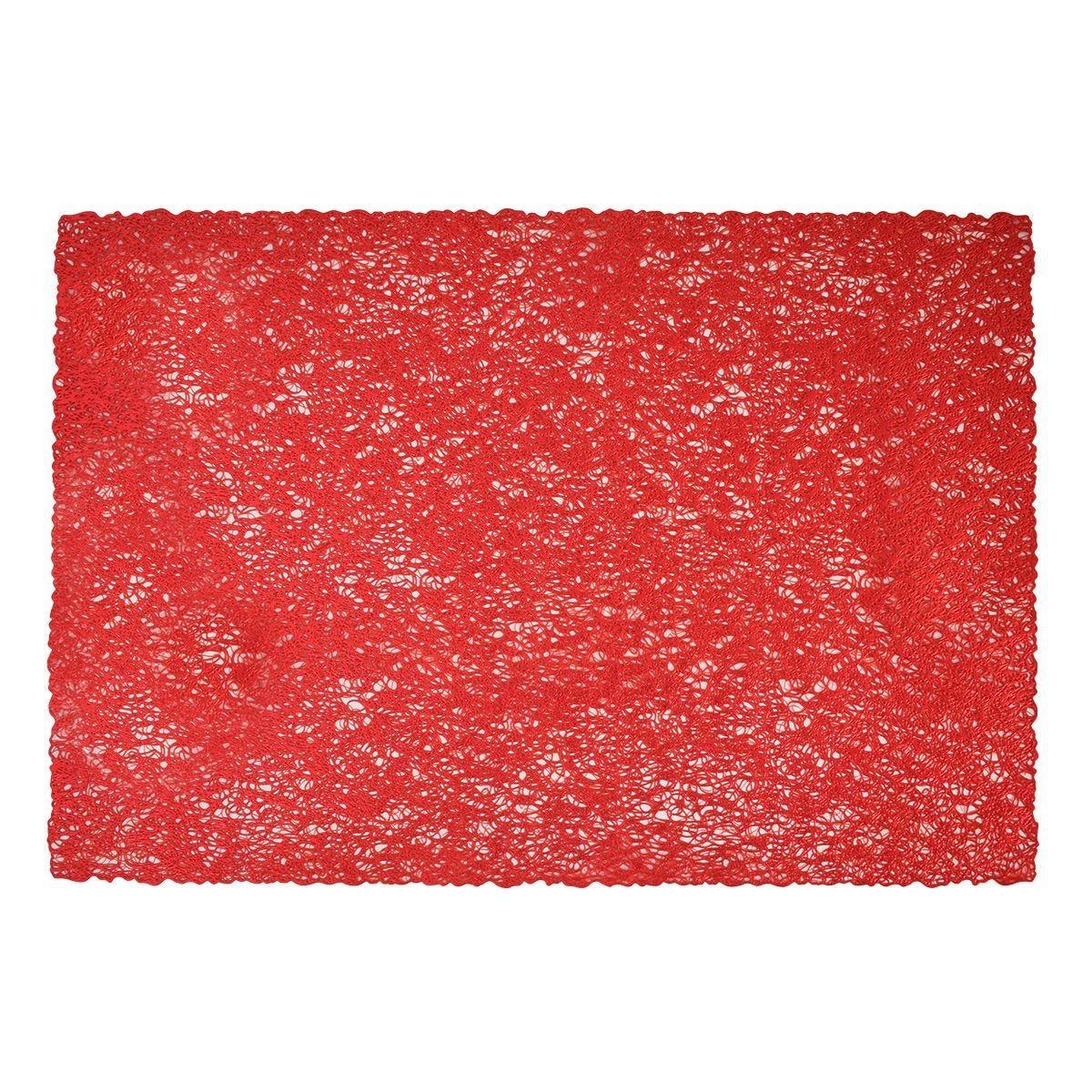 Woven Placemat - Red