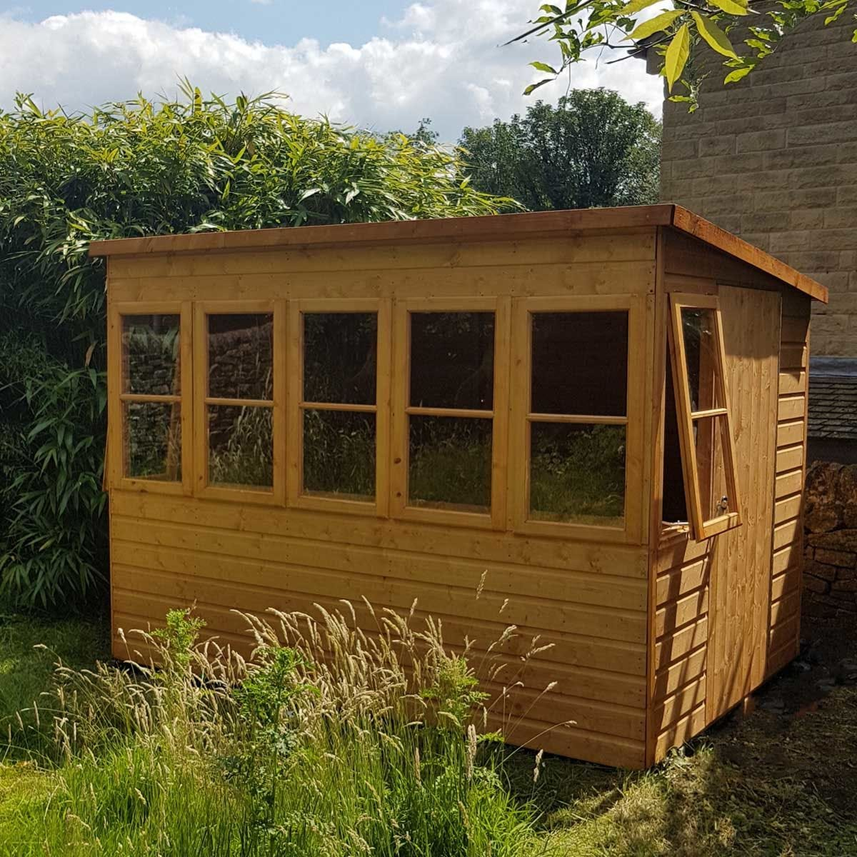 Shire Sun Pent 8' x 8' Shed