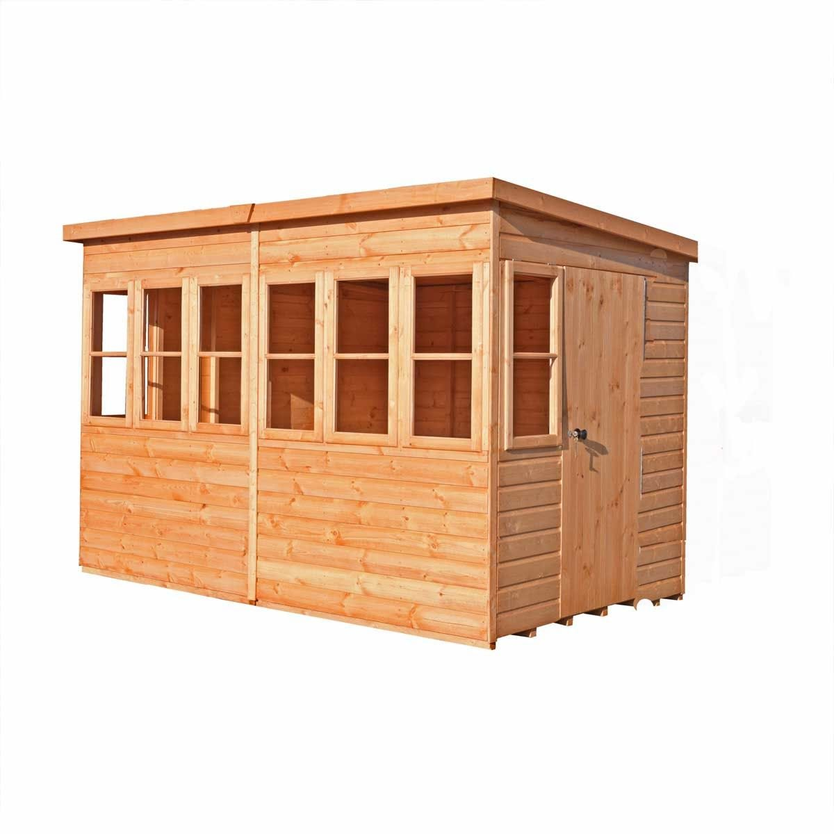 Shire Sun Pent 10' x 6' Shed