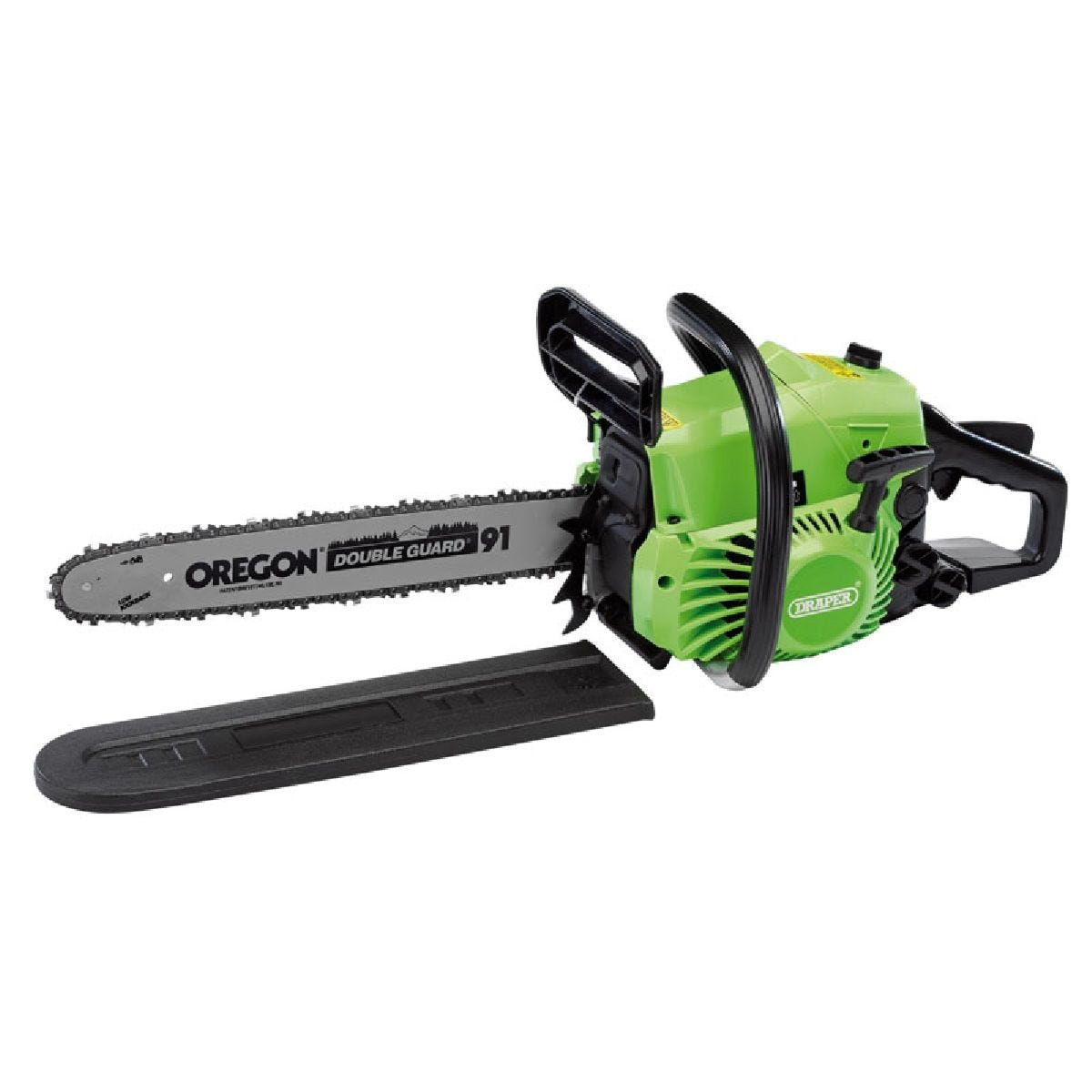 Draper 400mm Petrol Chainsaw with Oregon Chain & Bar (37cc)