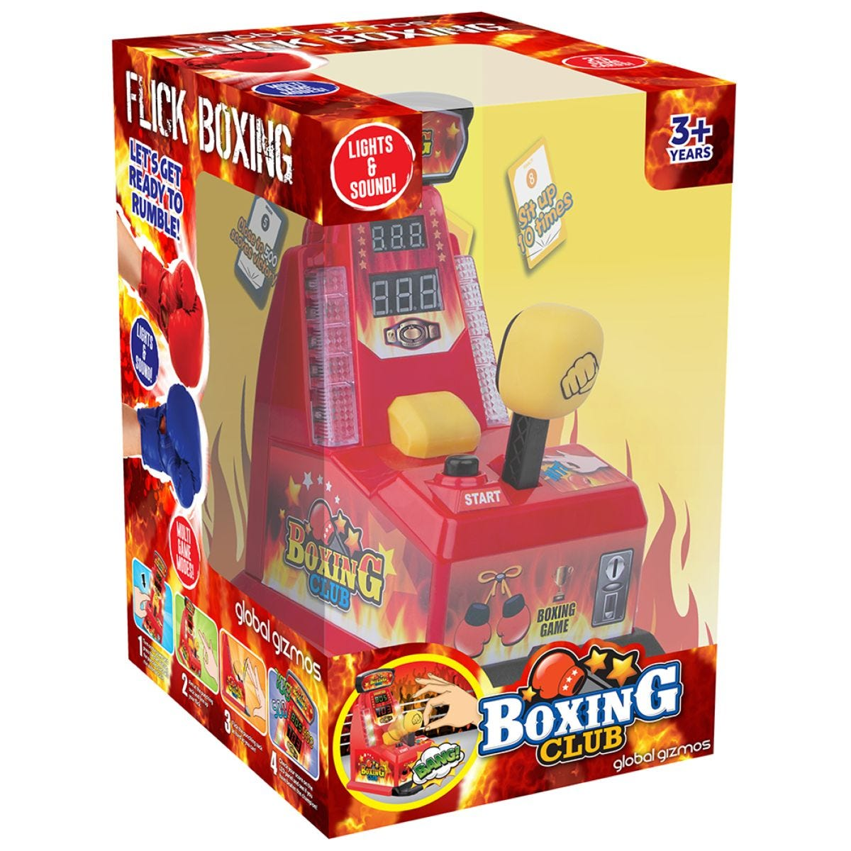 Flick Punch Boxing Game