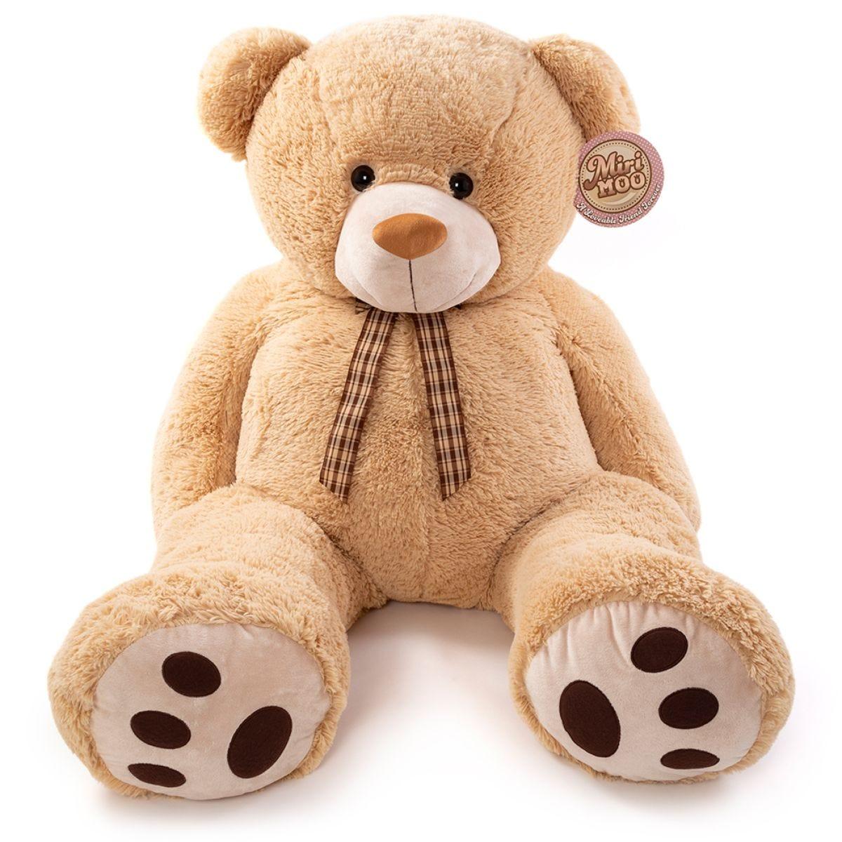 Miri Moo Giant 4ft Plush Albert Teddy Bear - Beige