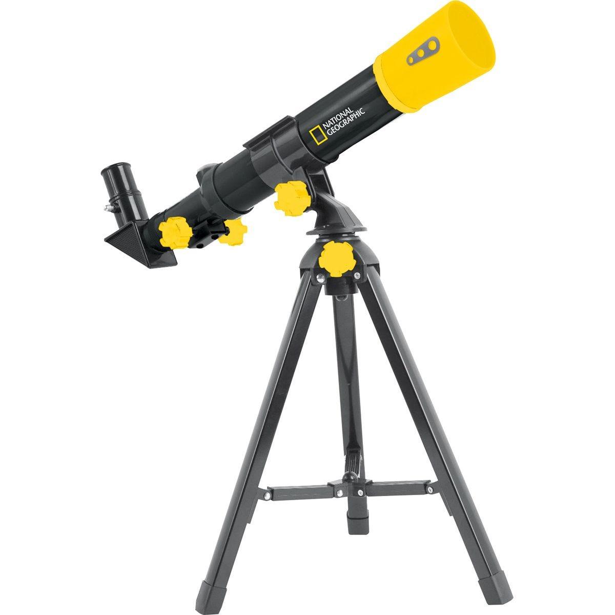National Geographic Children's Telescope - Black/Yellow