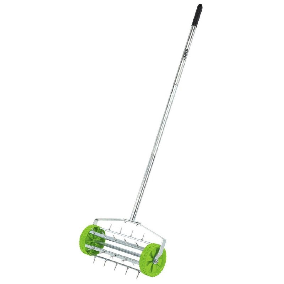 Draper Rolling Lawn Aerator - 450mm Spiked Drum
