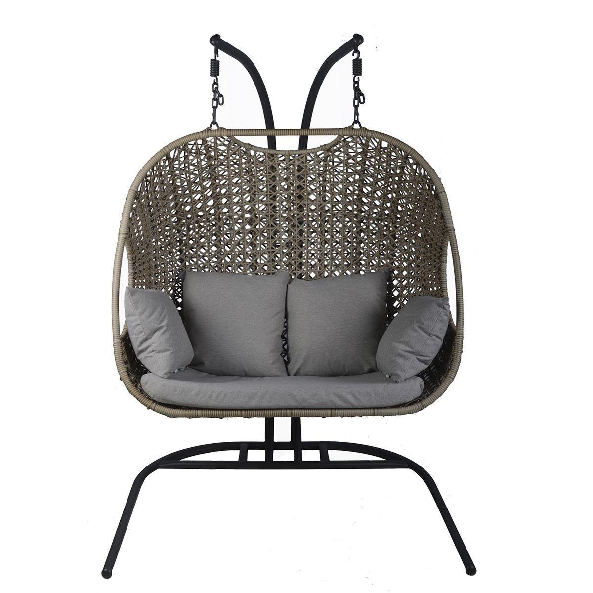 LG Outdoor Monaco Hazel Double Egg Chair