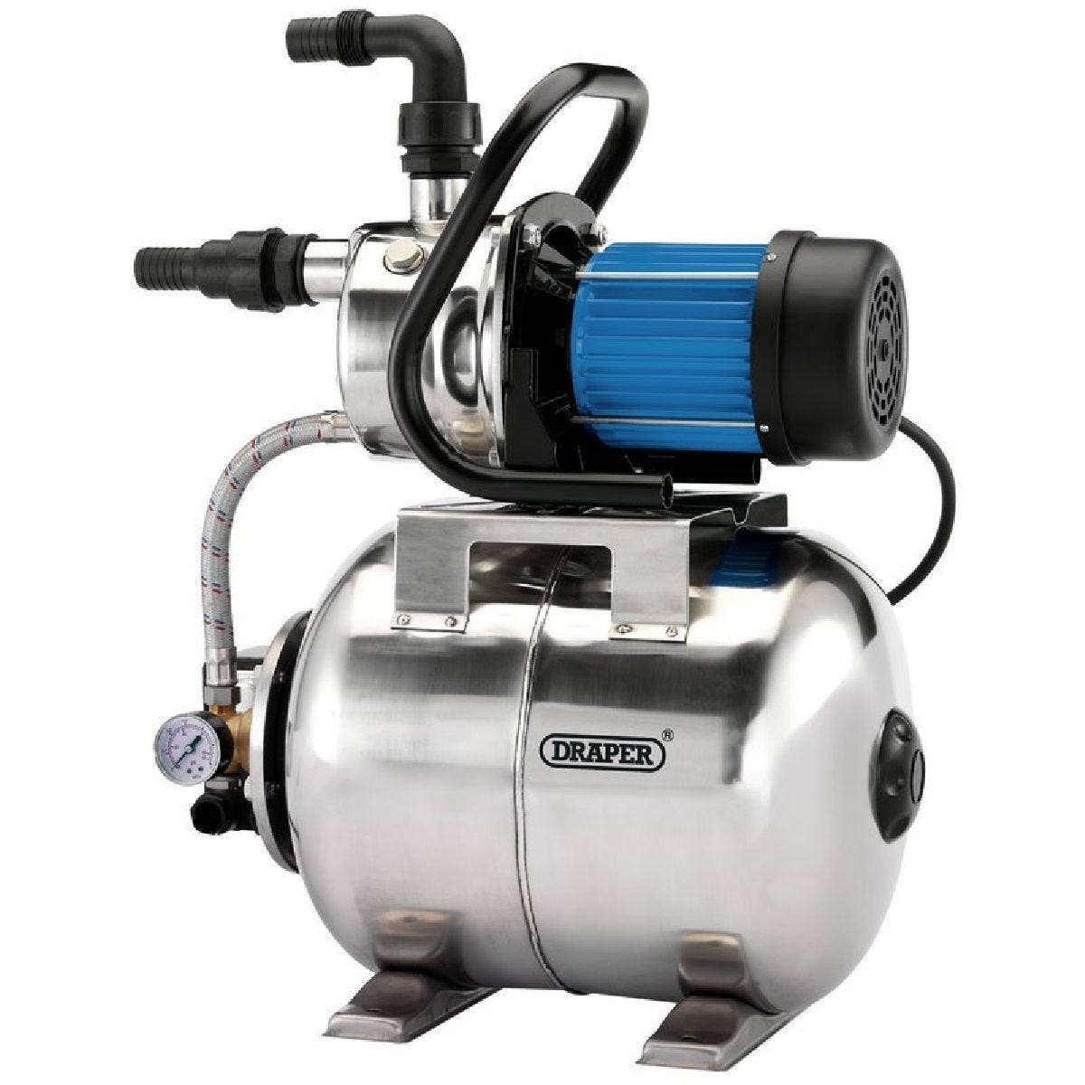 Draper Stainless Steel Booster Pump - 800W