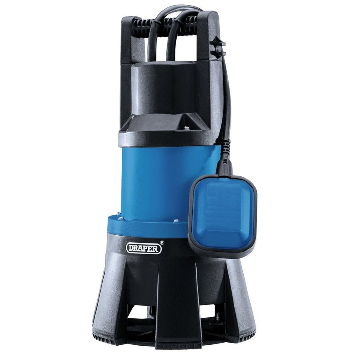 Draper Submersible Dirty Water Pump with Float Switch - 1300W