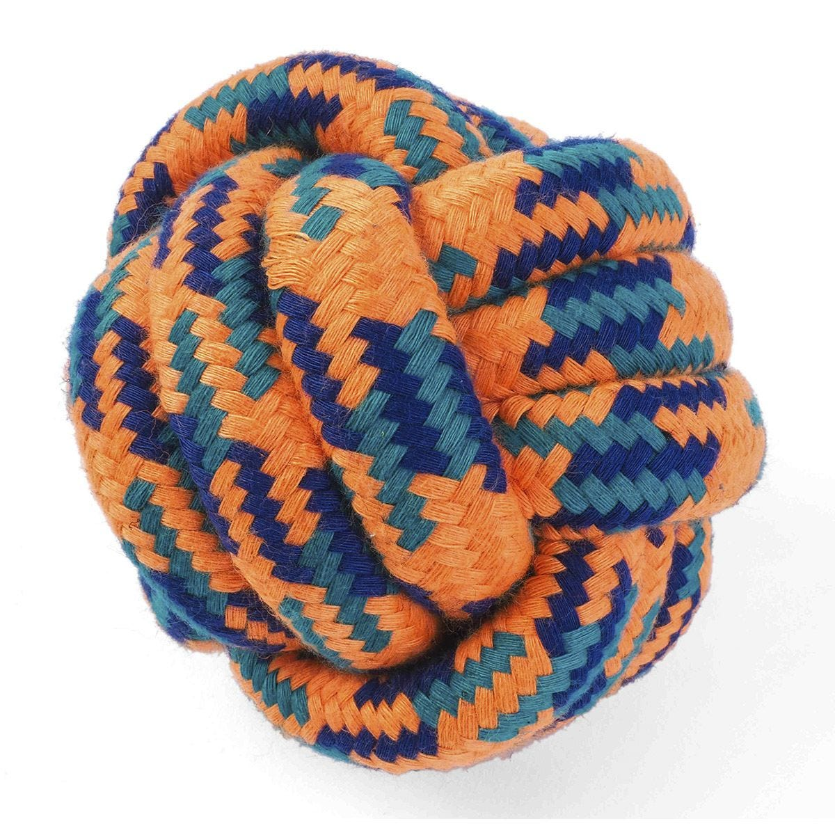 Zoon Uber-Activ Rope Ball Dog Toy