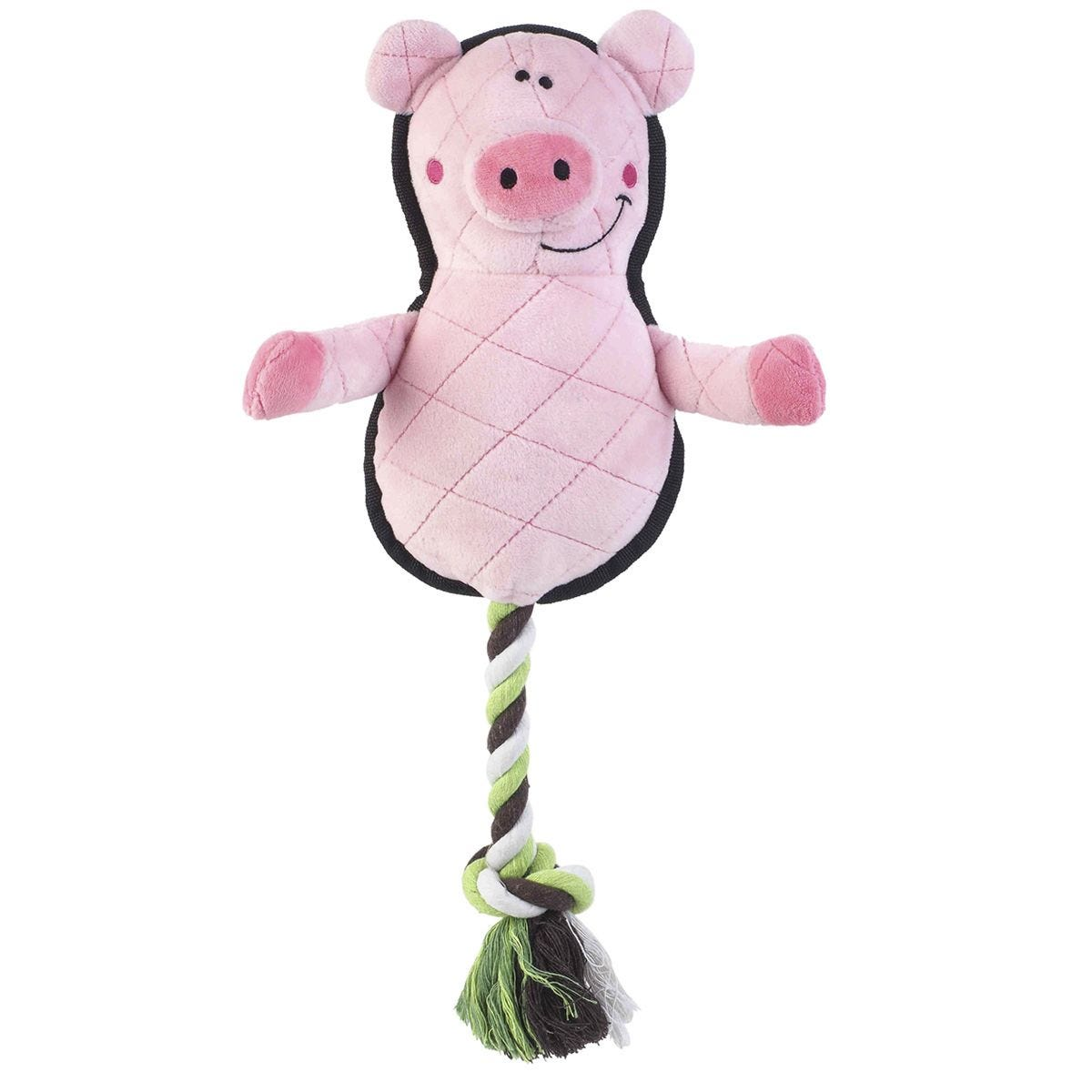 Zoon Fetch-A-Pig Dog Toy