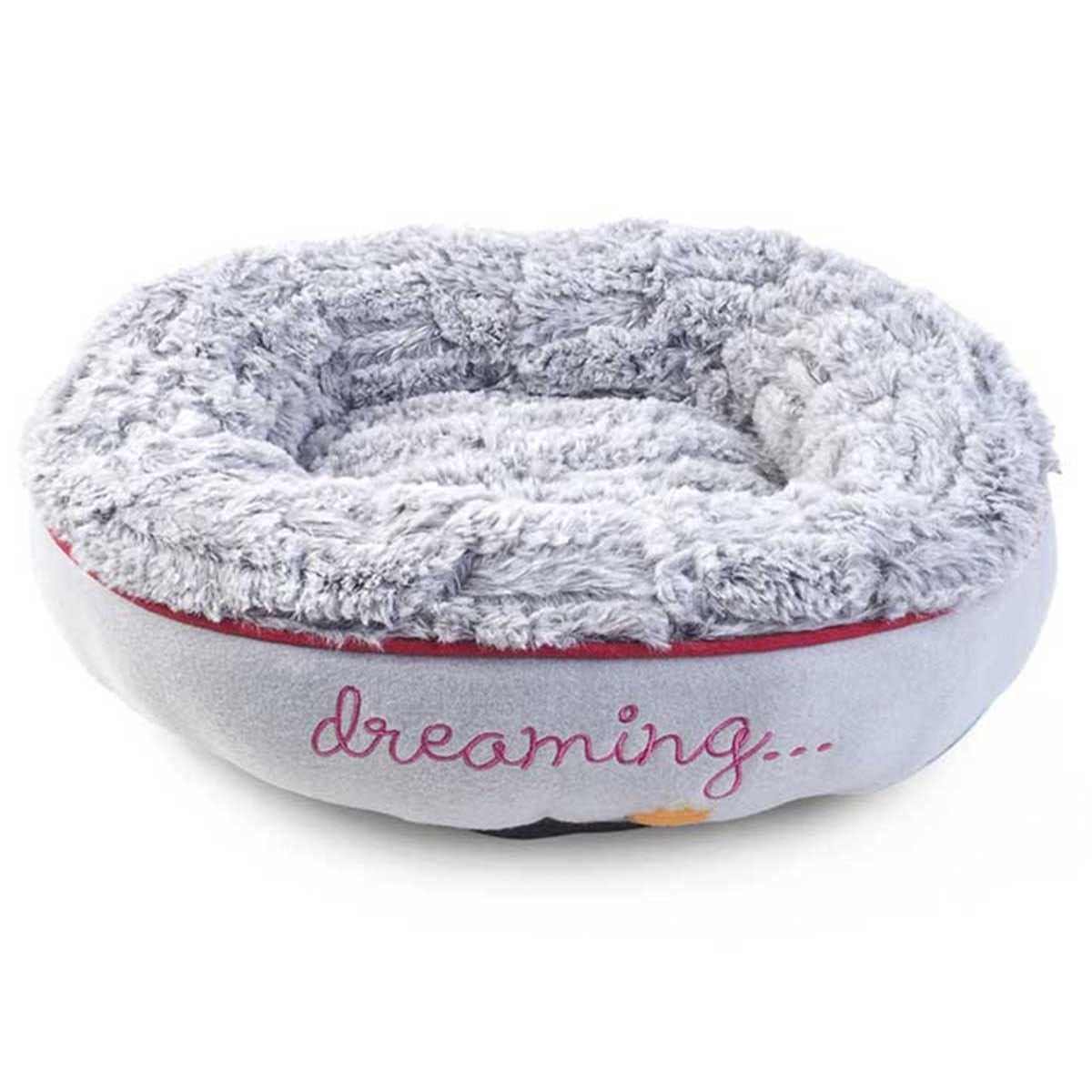 Zoon Hoglets Dreaming Donut Cat Bed