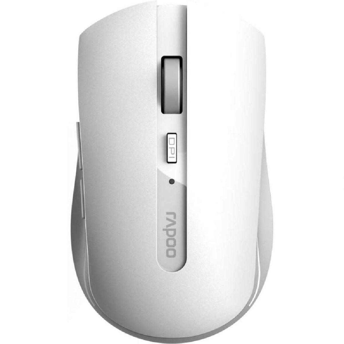 Rapoo 7200M Wireless Multi-Mode Optical Mouse - White