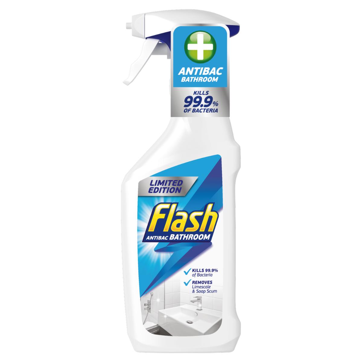 Flash Bathroom 3 in 1 Antibacterial Spray - 500ml