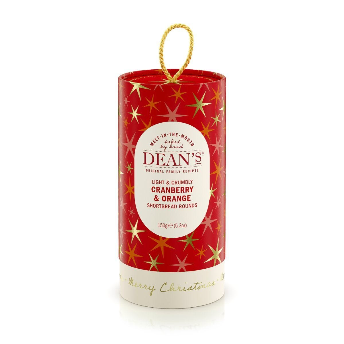Deans Shortbread Cranberry and Orange Rounds - 150g