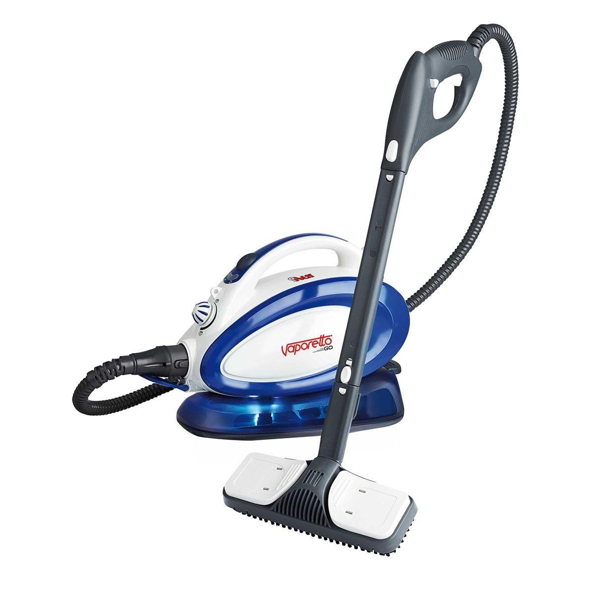 Polti Vaporetto Handy Go Steam Mop - White & Blue