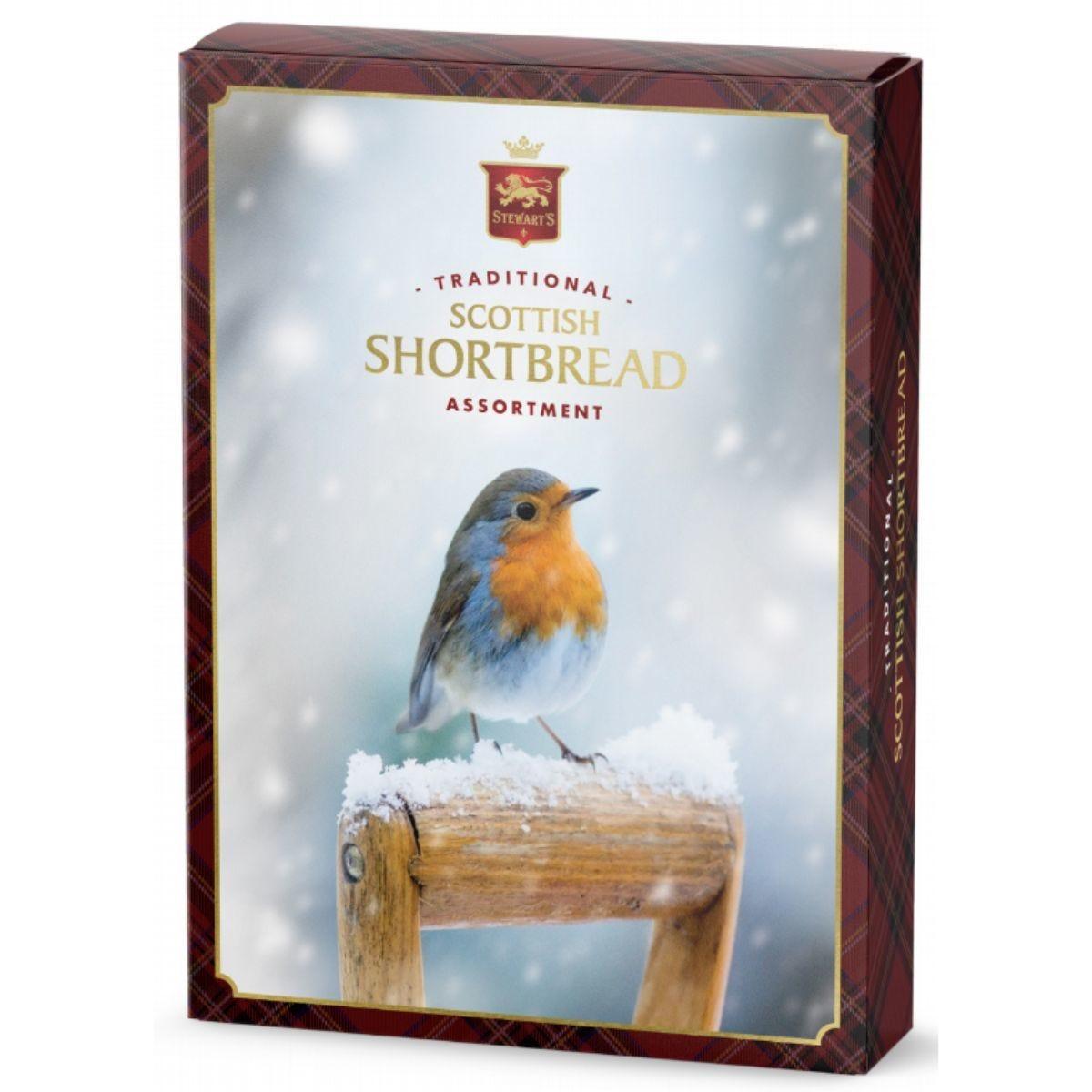 Stewarts Robin Traditional Scottish Shortbread Assortment - 400g