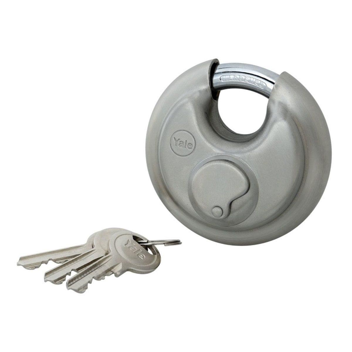 Yale High Security Disc Padlock