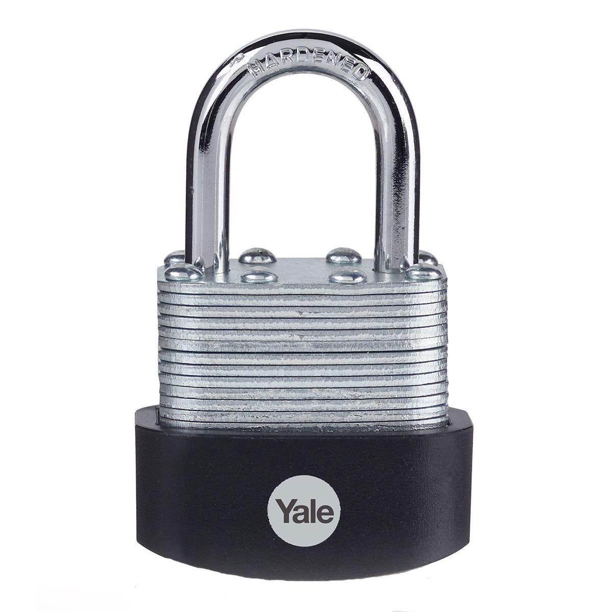 Yale Laminated Steel Padlock 40mm - Pack of 3
