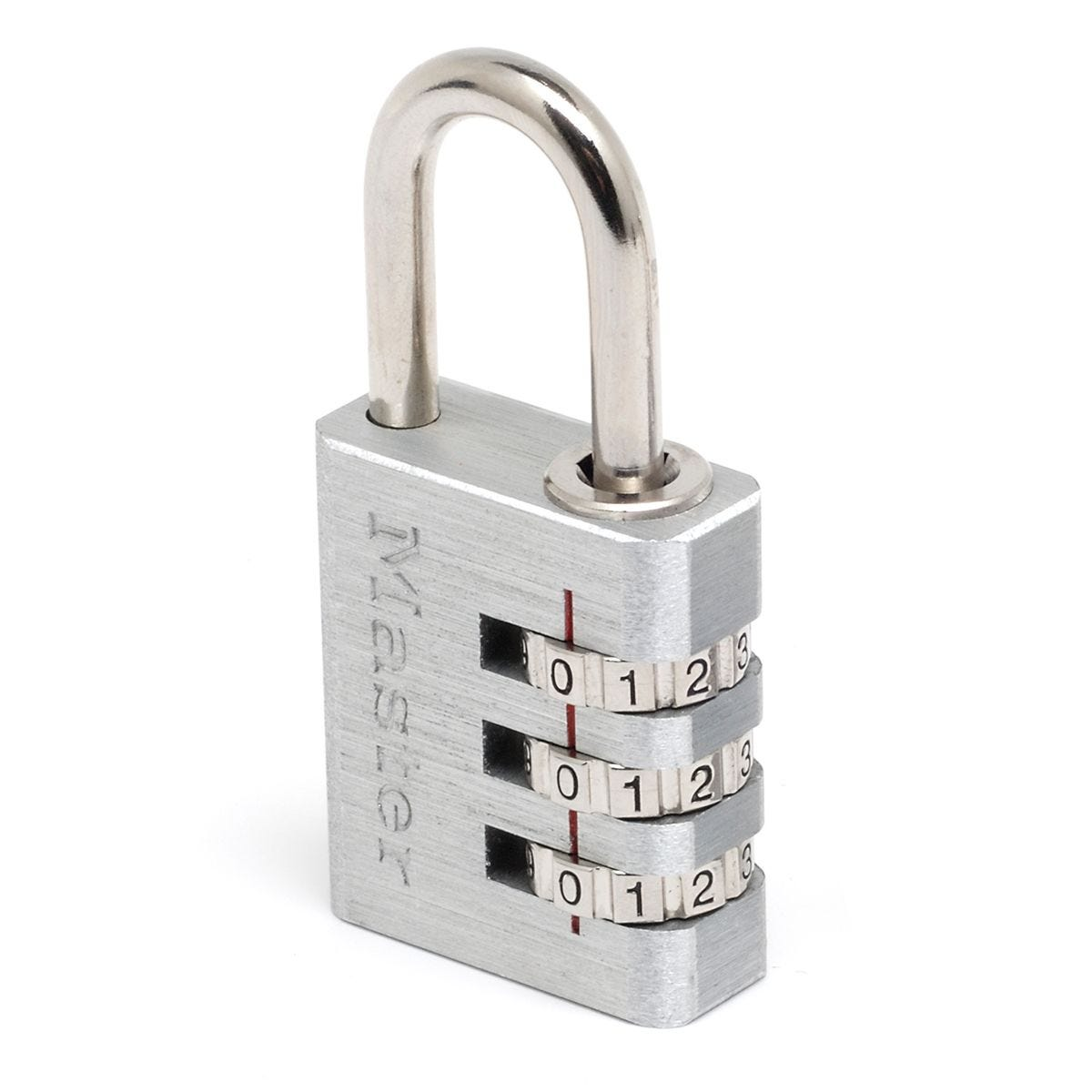 Master Lock 30mm Wide Set-Your-Own Combination Aluminum Body Padlock