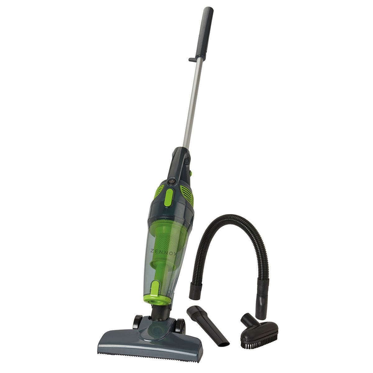 Zennox G4556 800W Stick Vacuum Cleaner with Accessories – Green/Grey