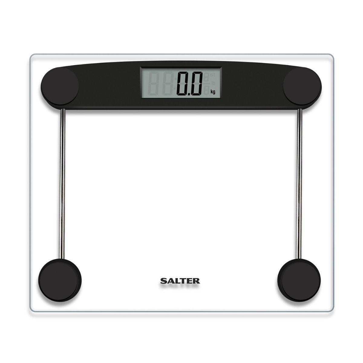 Salter Compact Glass Digital Bathroom Scale