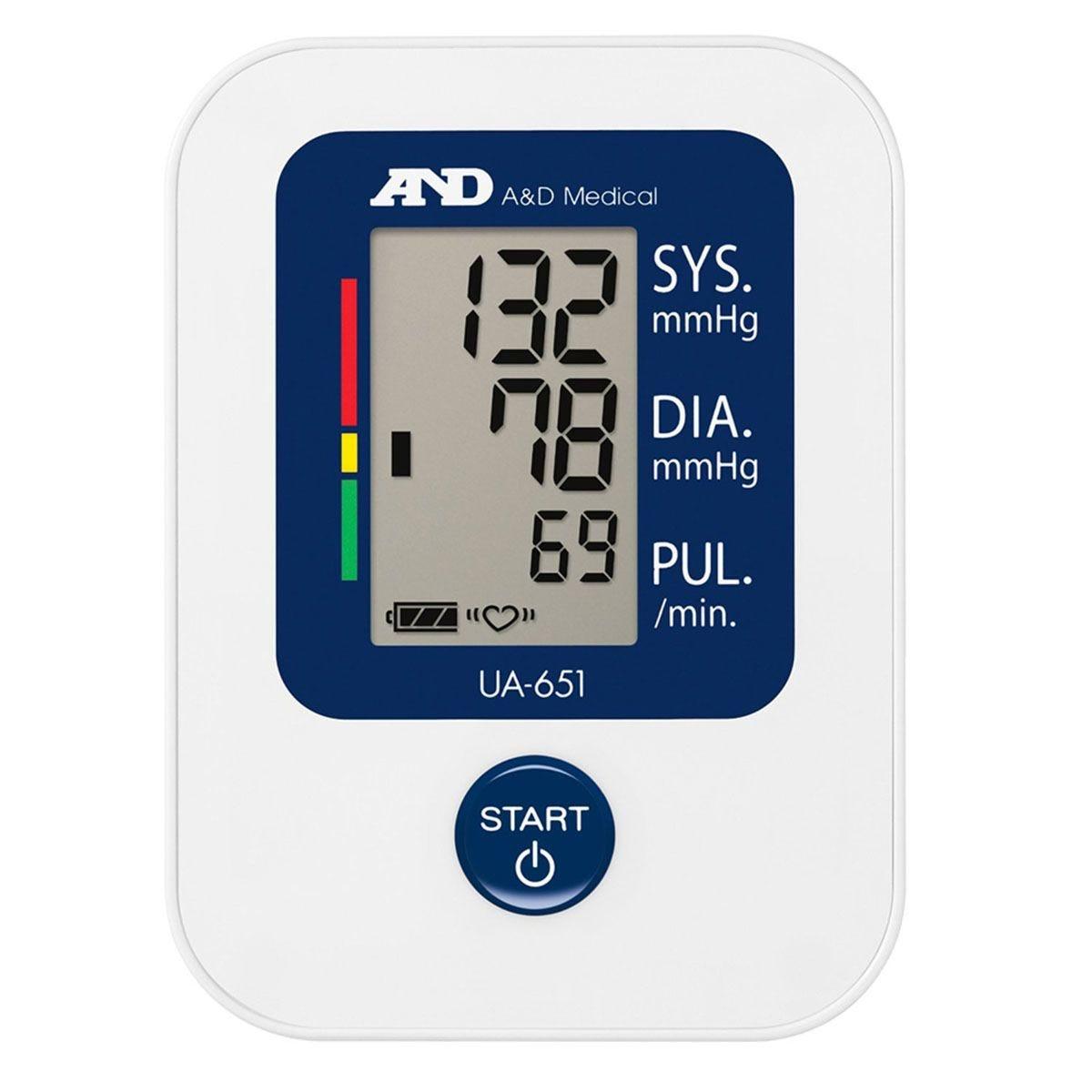 A&D Medical UA651 Upper Arm Blood Pressure Monitor
