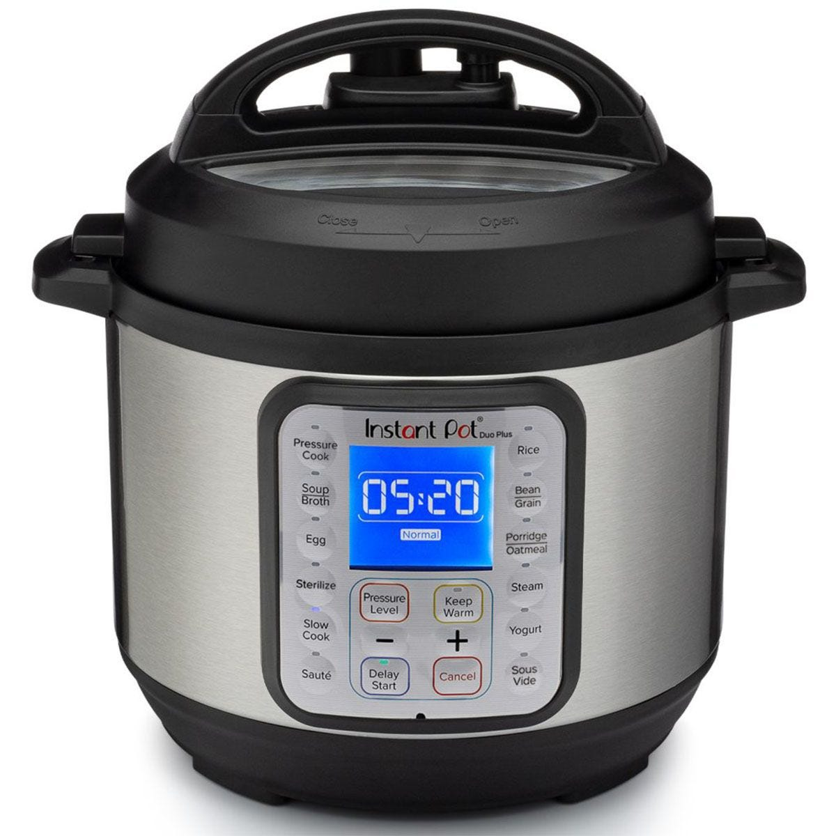 Instant Pot EV012008 Duo Plus 30 9-in-1 Multi-Use Mini Pressure Cooker - Stainless Steel