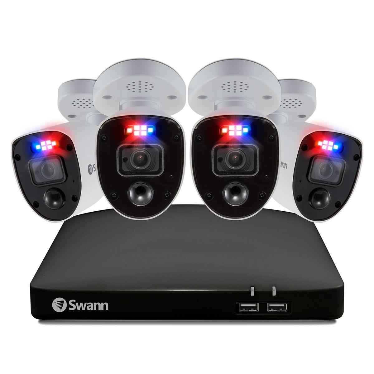 Swann Smart Enforcer 4 Camera 8 Channel DVR CCTV Security System