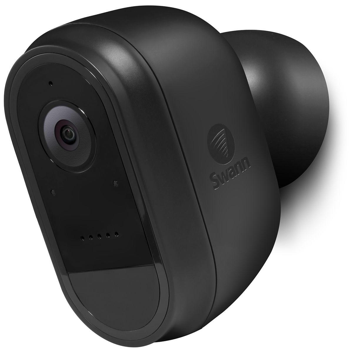 Swann Smart Wire-Free 1080p CCTV Security Camera - Black