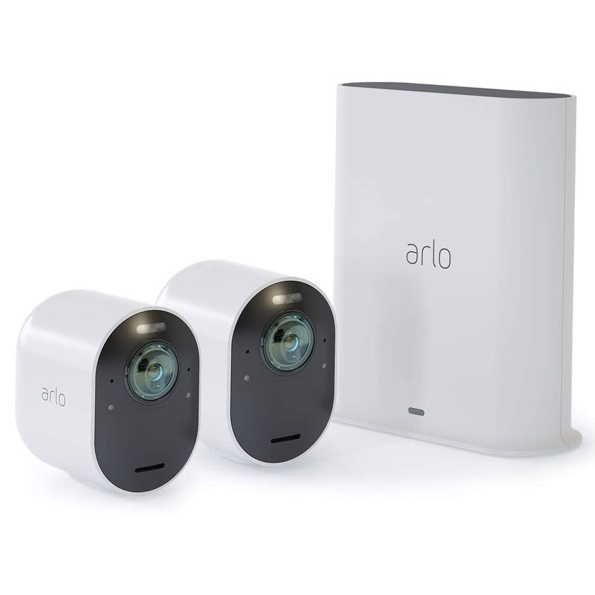 Arlo Ultra 4K UHD Wire-Free Security 2 Camera System - White
