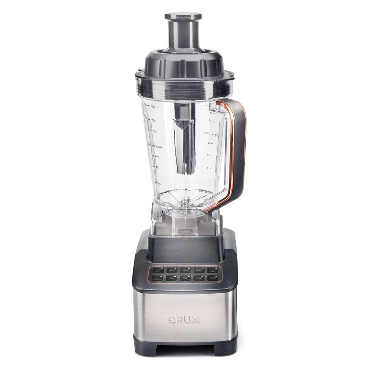 Crux CRUX001 High Powered  1200W Blender and Soup Maker – Brushed Steel