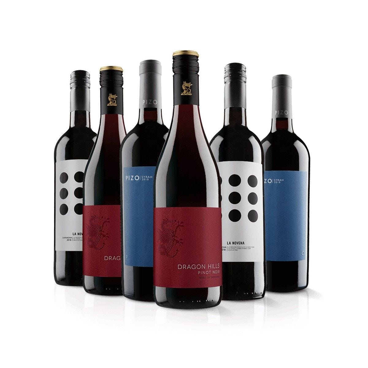 Virgin Wines Must Have Red Six Pack