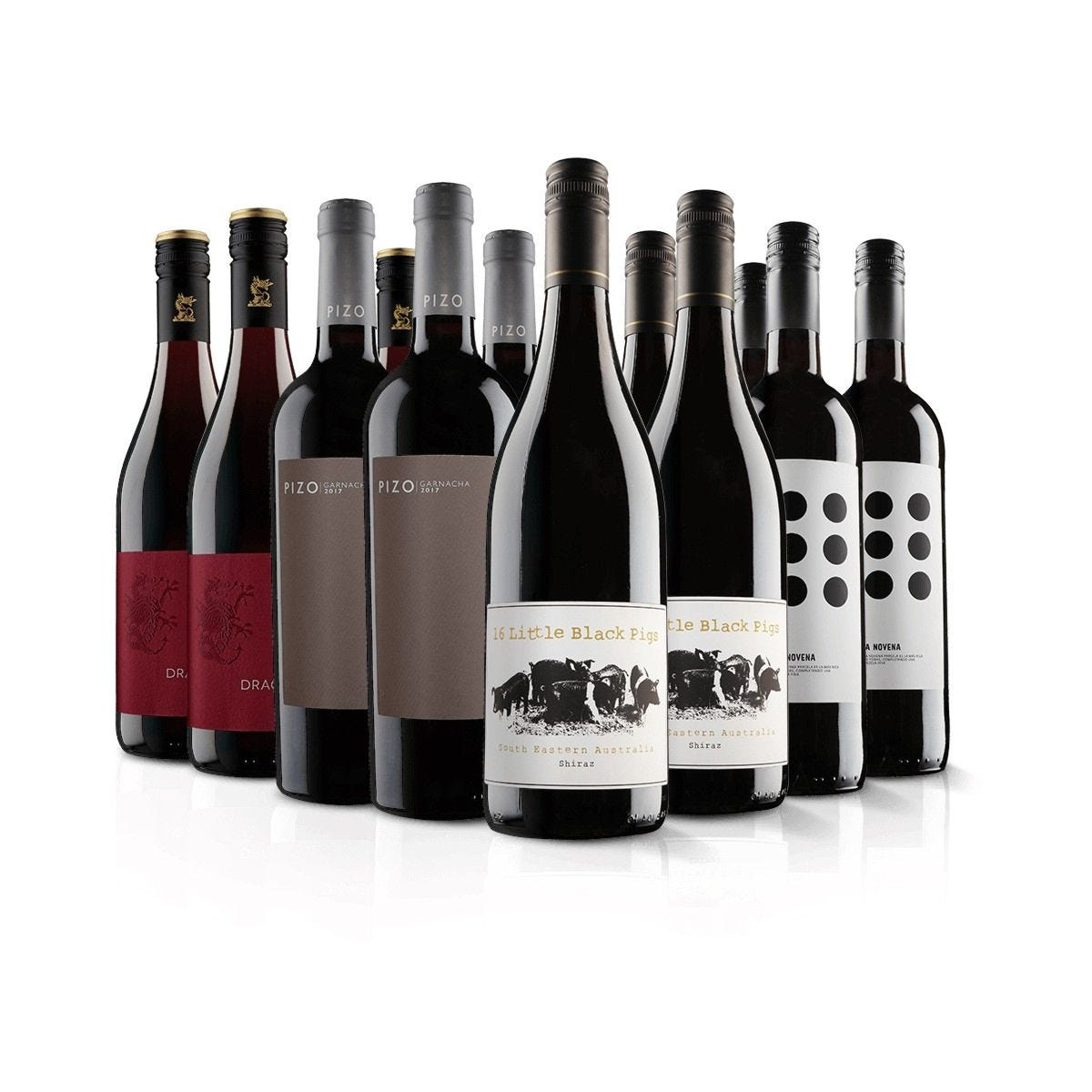 Virgin Wines Must Have 12 Bottle Red Selection