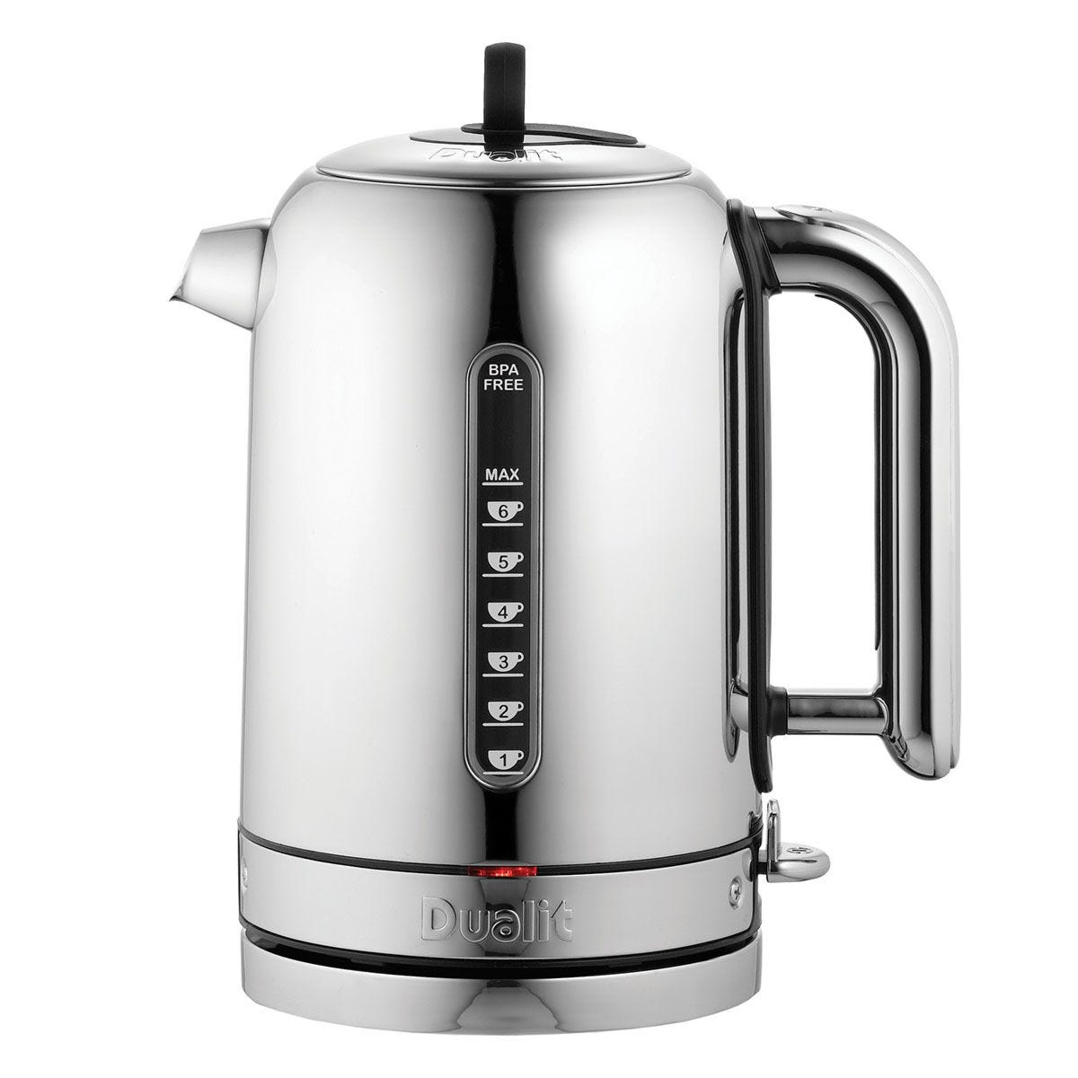 Dualit Classic 1.7L Polished Stainless Steel Kettle - Silver