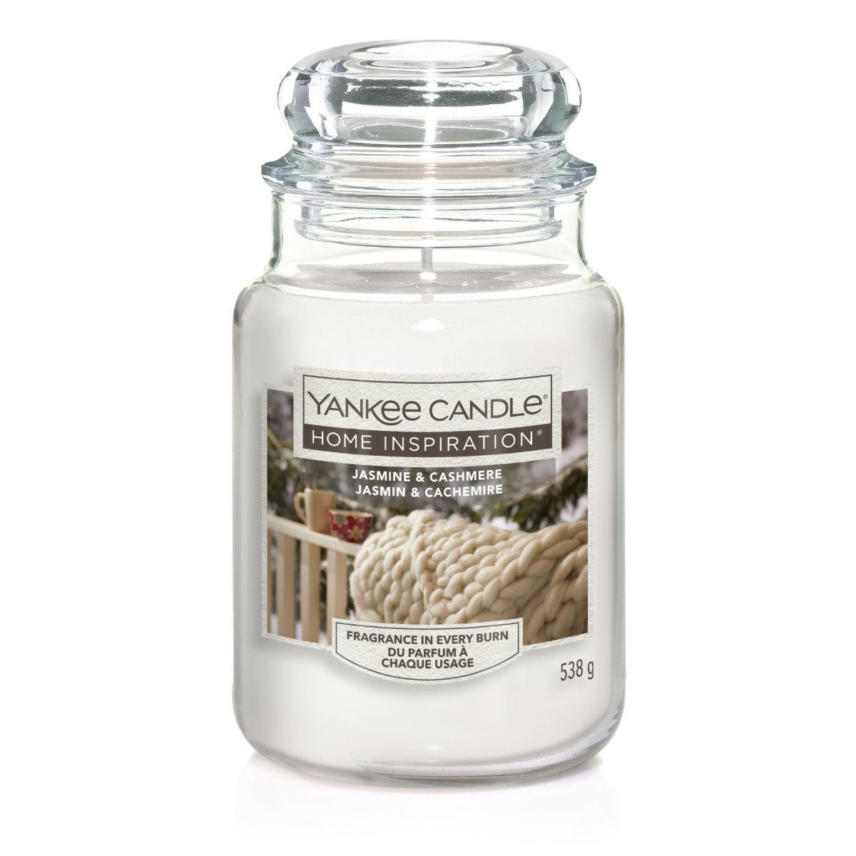 Yankee Candle Home Inspiration Large Jar Candle - Jasmine & Cashmere