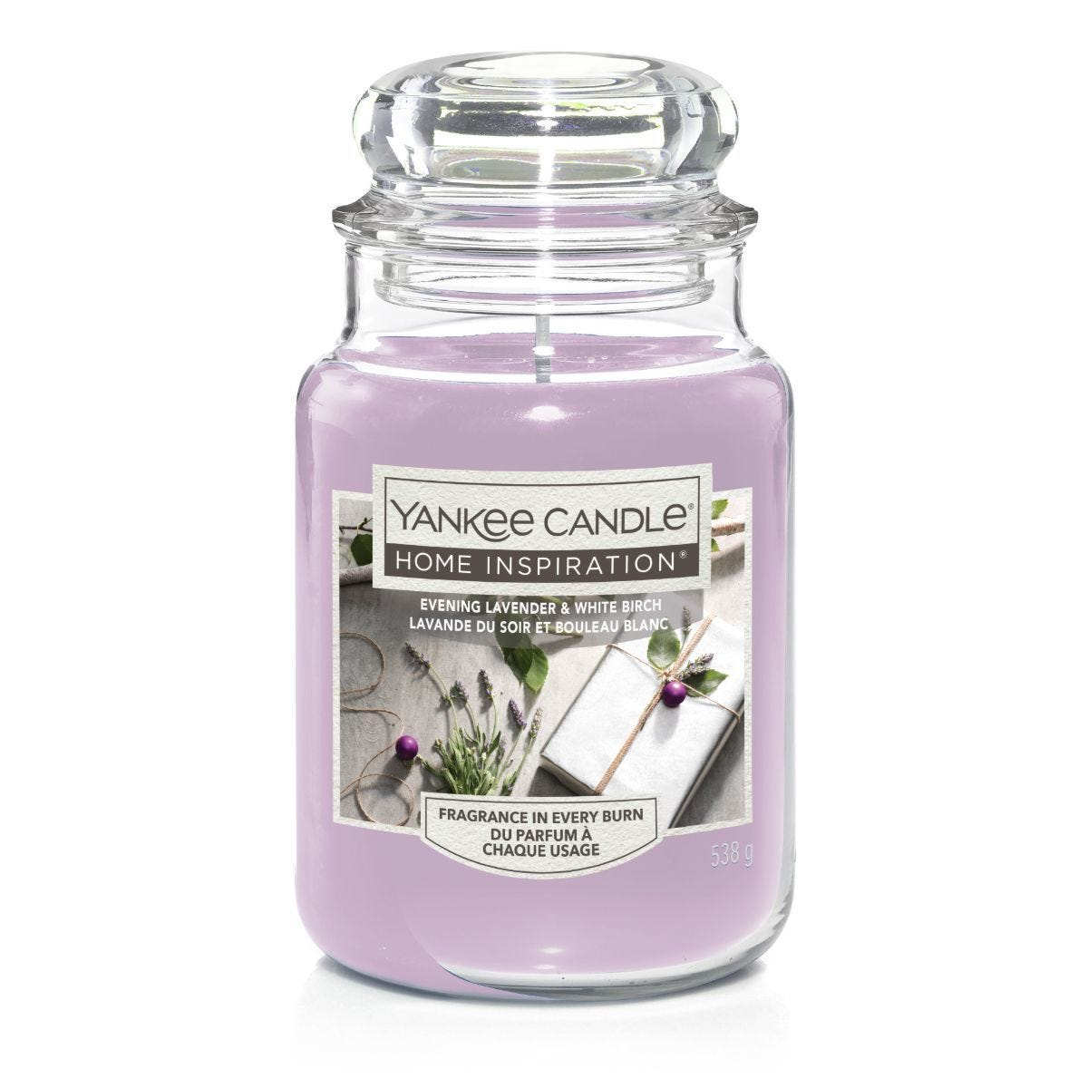 Yankee Candle Home Inspiration Large Jar Candle - Evening Lavender & White Birch