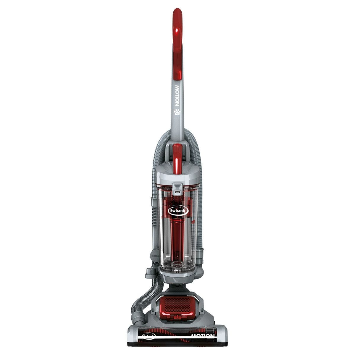 Ewbank EW3001 Bagless Pet 700W Upright Vacuum - Silver and Red