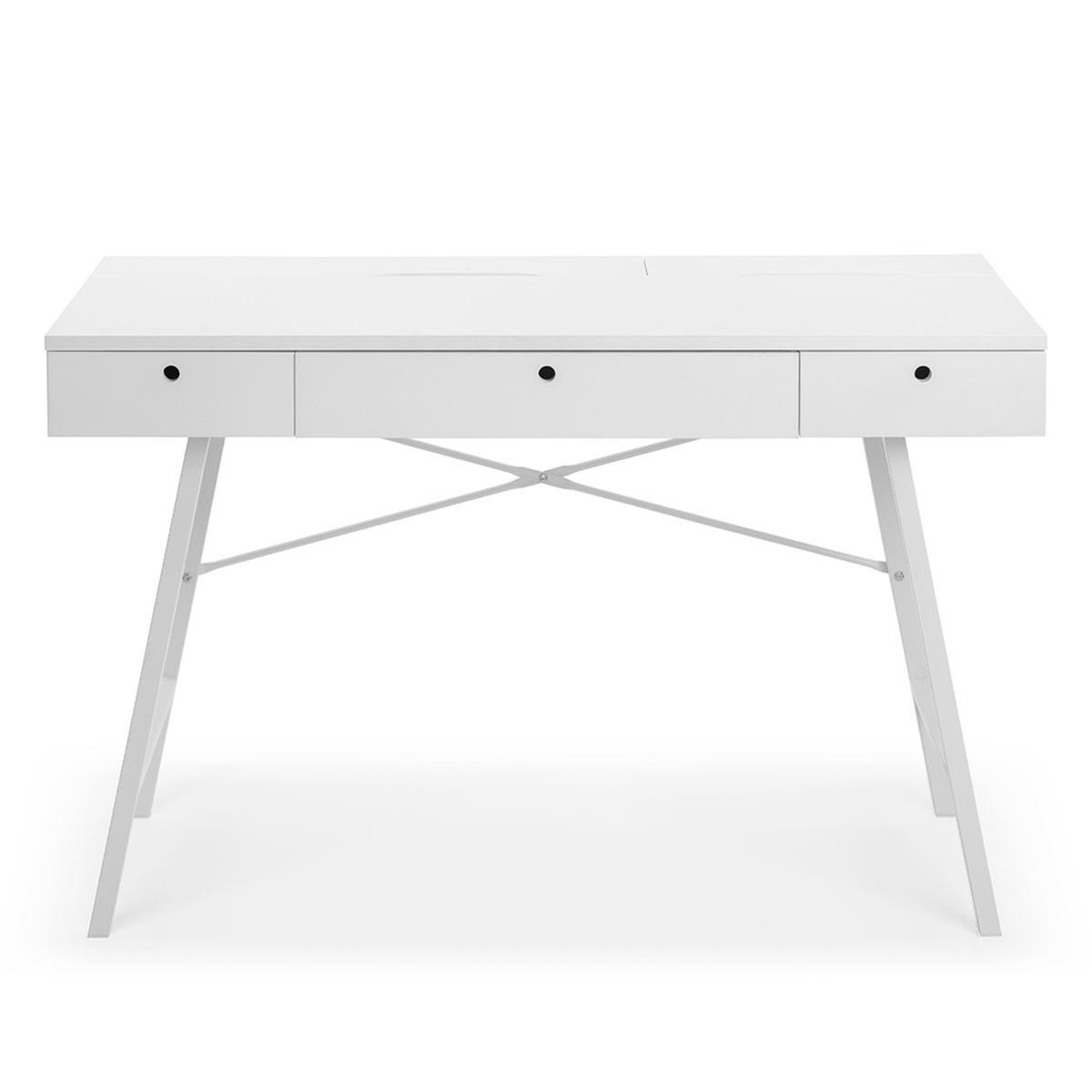 Julian Bowen Trianon Desk - White