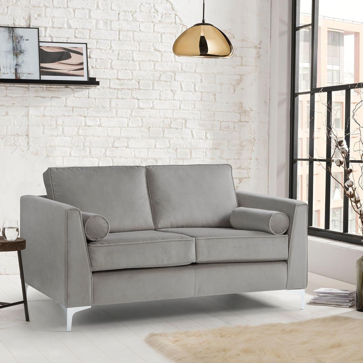 Milan Icon 2 Seater Sofa Malta Grey