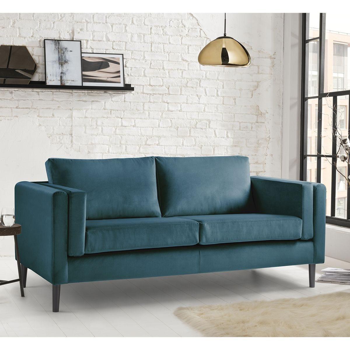 Rio 3 Seater Sofa - Malta Peacock