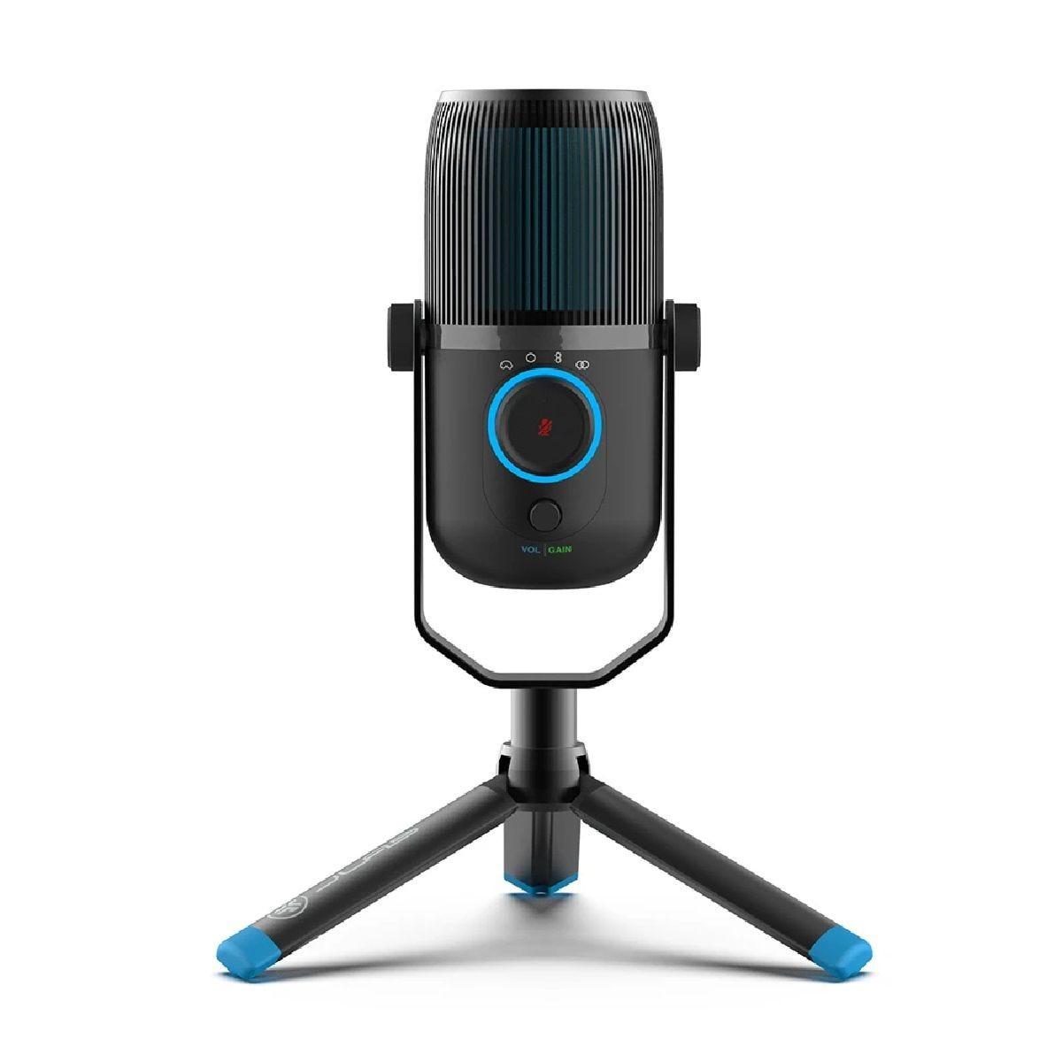 JLab Talk USB Microphone - Black/Blue