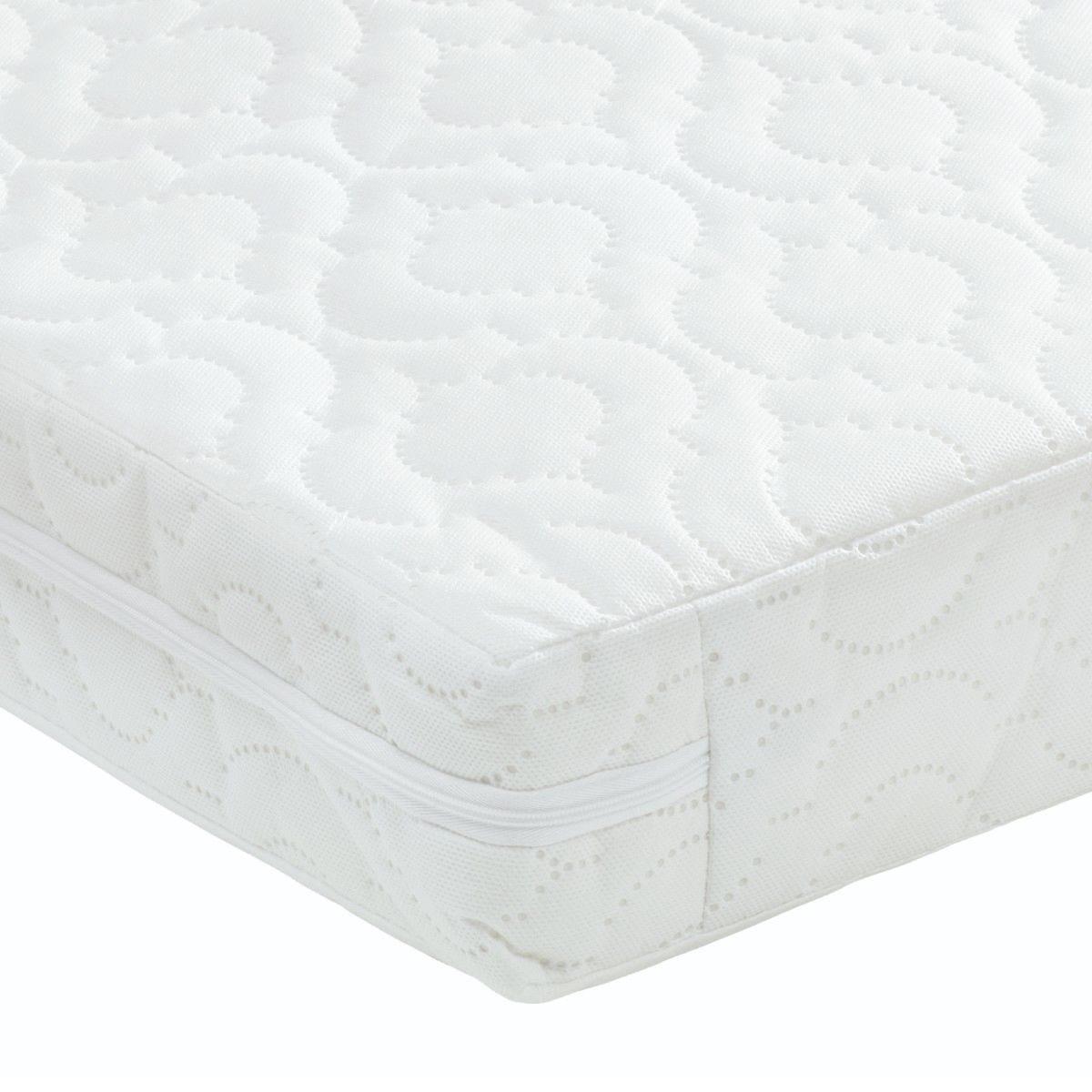 Babymore Premium Dual Core Pocket Sprung Cot Bed Mattress 140 x 70 x 10 CM